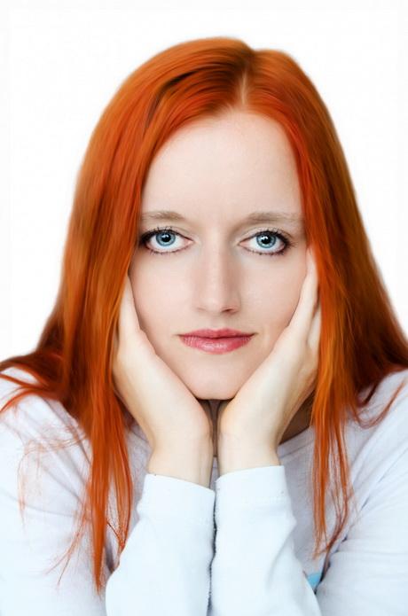 Capelli donna rossi