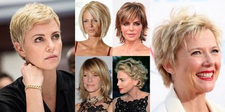 Tagli capelli corti per donne di 50 anni